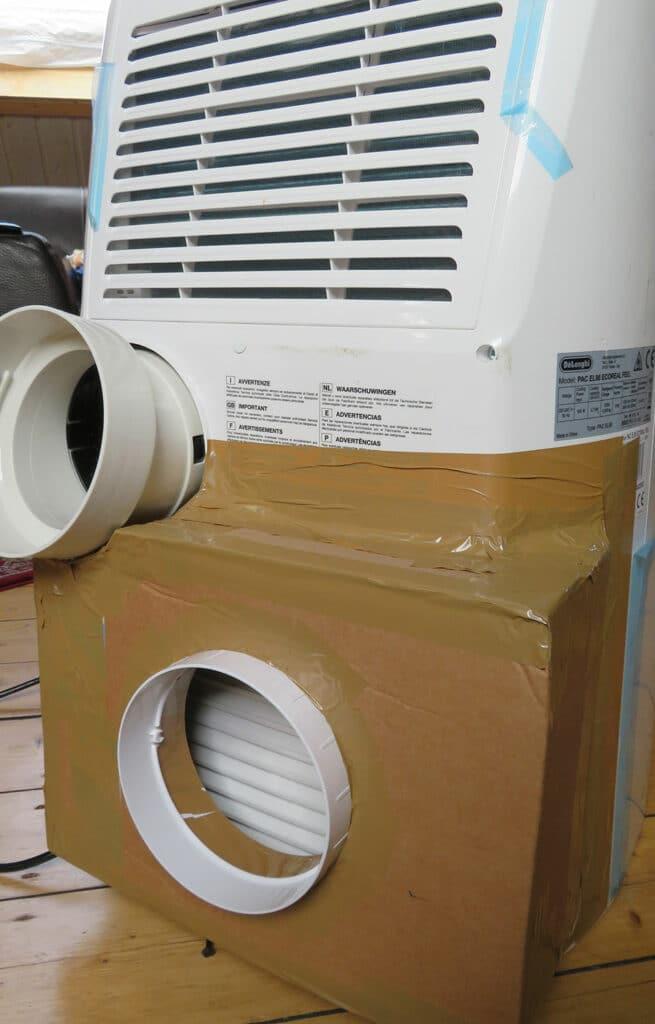 Umbau mobile Klimaanlage - Fertige Zweischlauchklimaanlage - 01