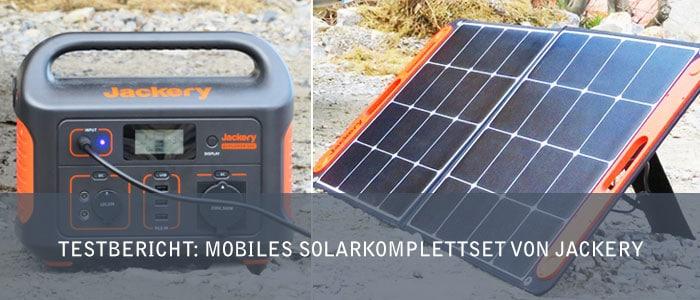 Testbericht: Mobiles Solarkomplettset von Jackery